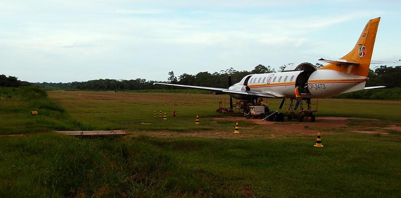 ルレナバケ空港の滑走路