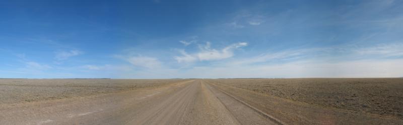 アルゼンチンの国道40号線