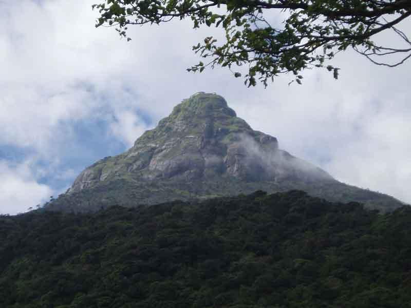 スリランカのアダムスピーク