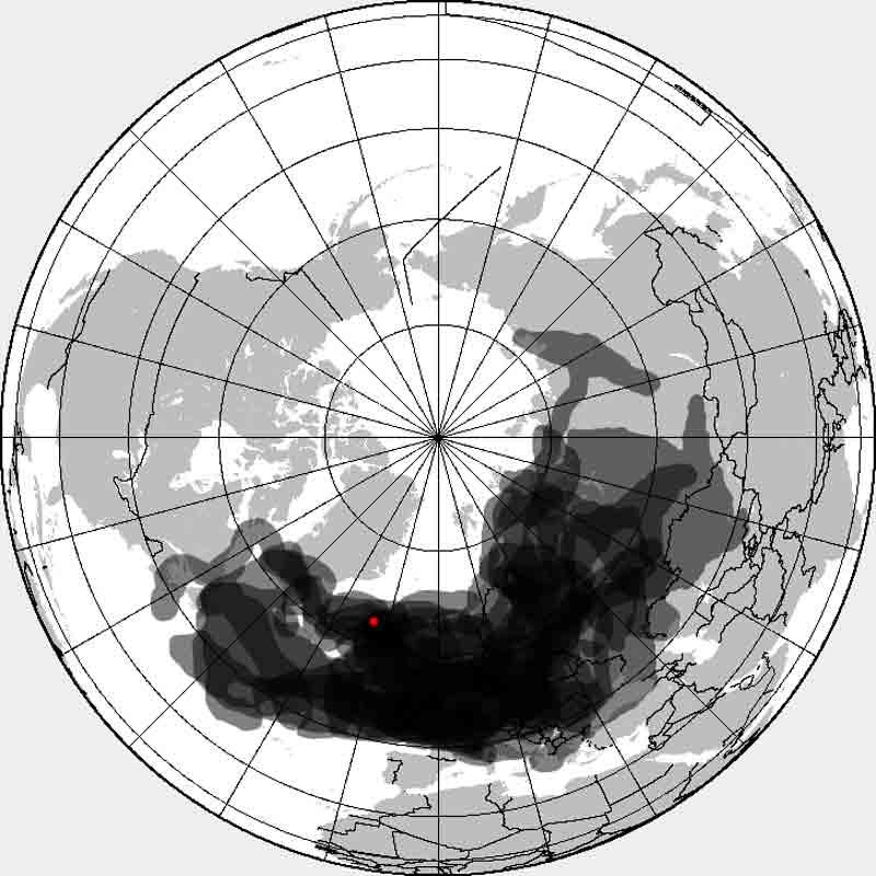 エイヤフィヤトラヨークトル山の噴煙がヨーロッパの空に与えた影響