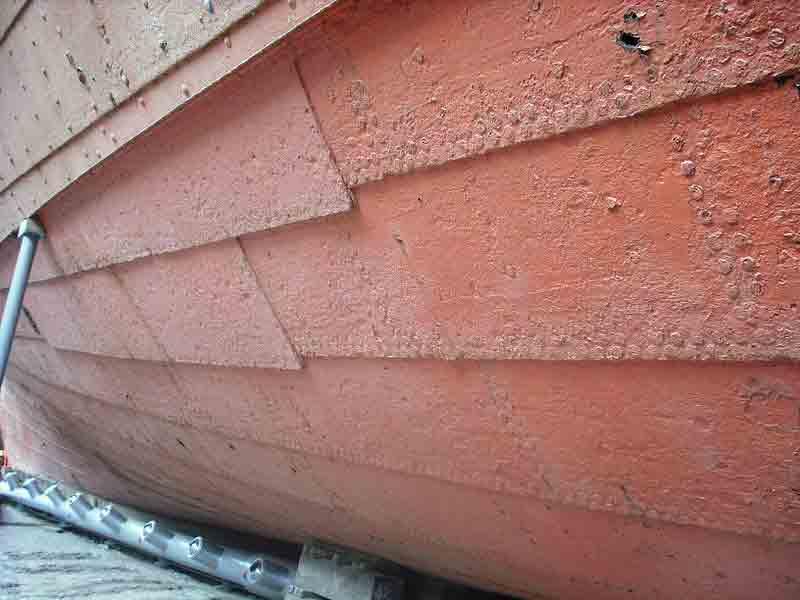 よろい張りの舷側