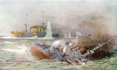 祖国はあまりに遠かった。青島のドイツ東洋艦隊、フォークランド沖に散る。(1914年)
