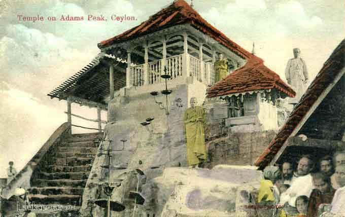 アダムスピークの寺院(1909年)