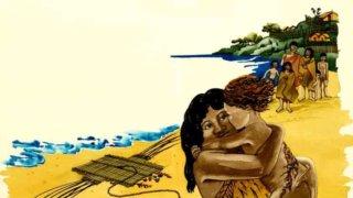 マタリキ を祝うマオリ族の絵